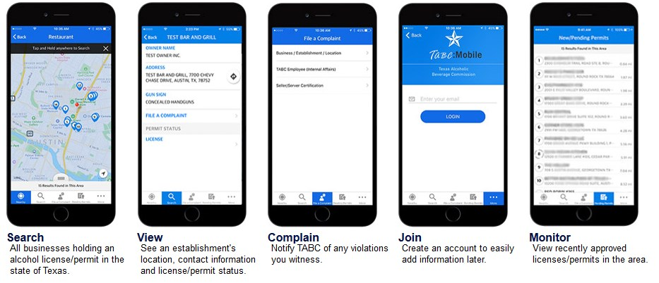 Tabc Mobile App For Public Use Tabc Certification